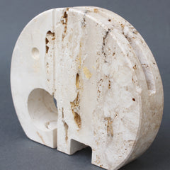 Stylised Travertine Elephant Envelope Holder by Mannelli Brothers (circa 1970s)