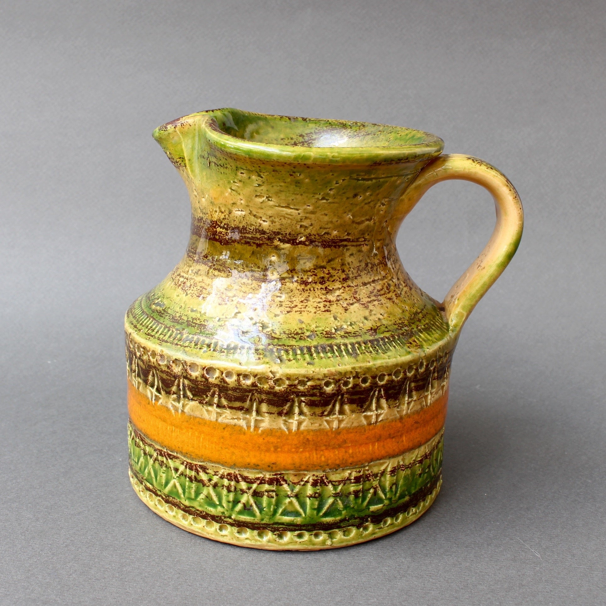 Mid-Century Ceramic Pitcher / Carafe  by Bitossi (circa 1960s) - Small