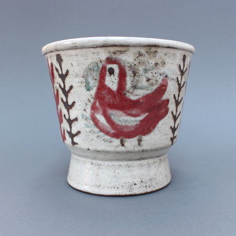 Ceramic Plant Pot by Gustave Reynaud - Le Mûrier (circa 1960s)