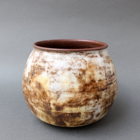 Ceramic Decorative Pot by Alexandre Kostanda, Vallauris (circa 1960s)