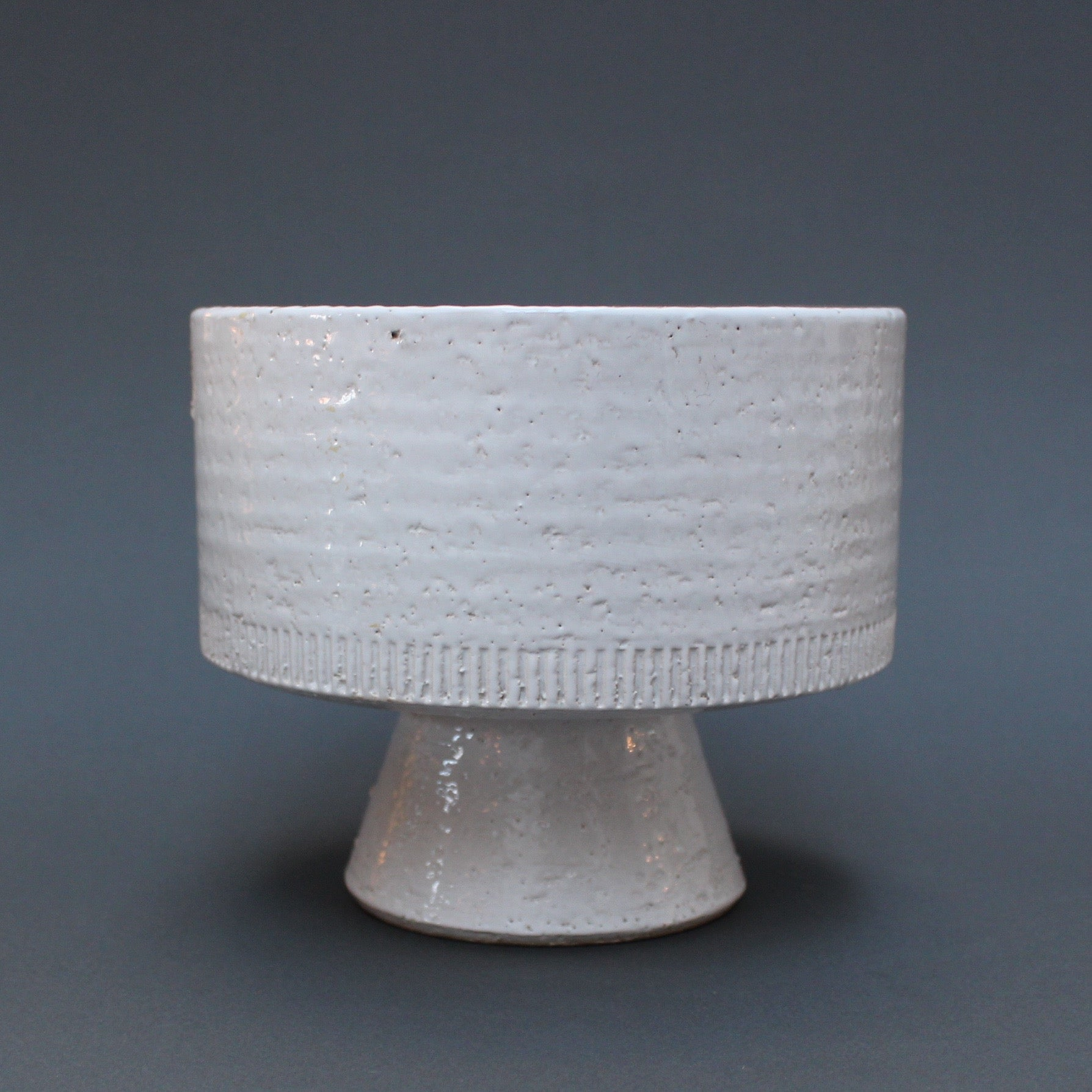 Mid-Century French Ceramic Plant Pot (c. 1960s)