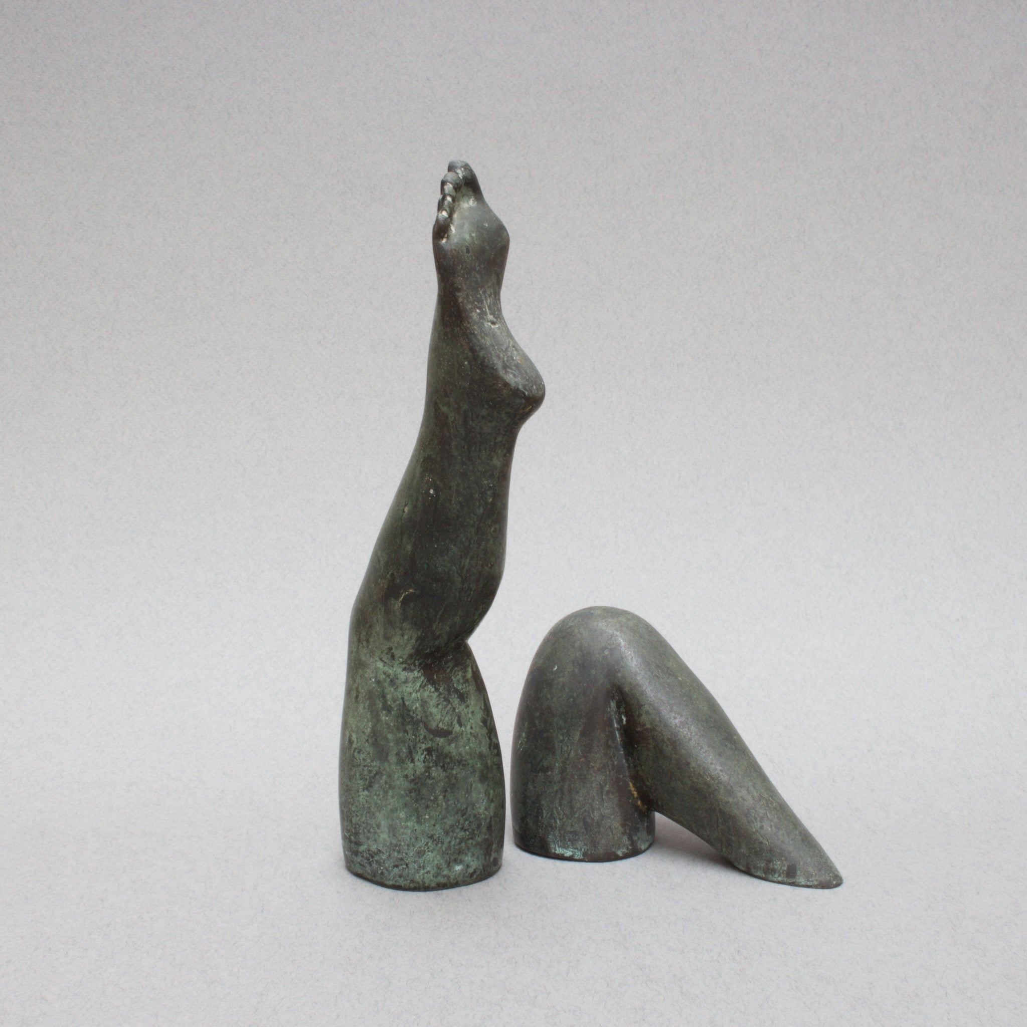 'Legs Emerging from Water' Sculpture by Pietrina Checcacci (c. 1970s)