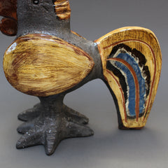 Ceramic French Rooster by Dominique Pouchain (c. 1990s)