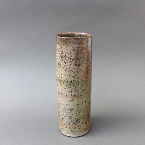 Mid-Century French Ceramic Vase by Jacques Pouchain (circa 1960s)