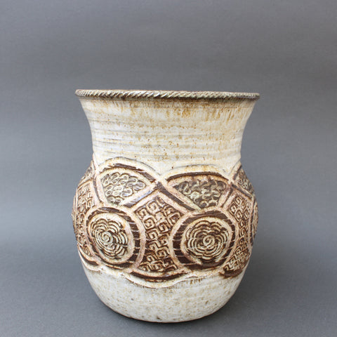 Ceramic Decorative Vase by Marcel Giraud, Vallauris (circa 1960s)