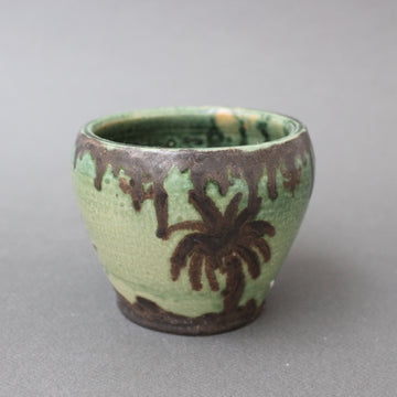 Decorative Ceramic Pot by GW (1975) - Small