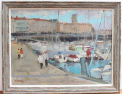 'Portside' by Susan Grisell (circa Late 20th Century)