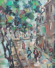 'Promenade Along the Île Saint-Louis' (circa 1960s)