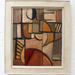 'Portrait of Reposing Woman' by RG (circa 1940s - 1960s)