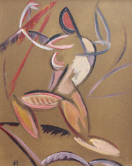 'Composition with Triumphant Figure' (circa 1960s)