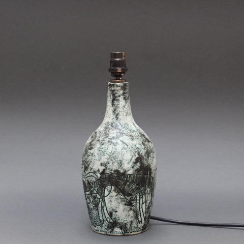 Ceramic Lamp by Jacques Blin (c. 1950s)