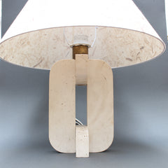 Italian Travertine Lamp (c. 1960s)