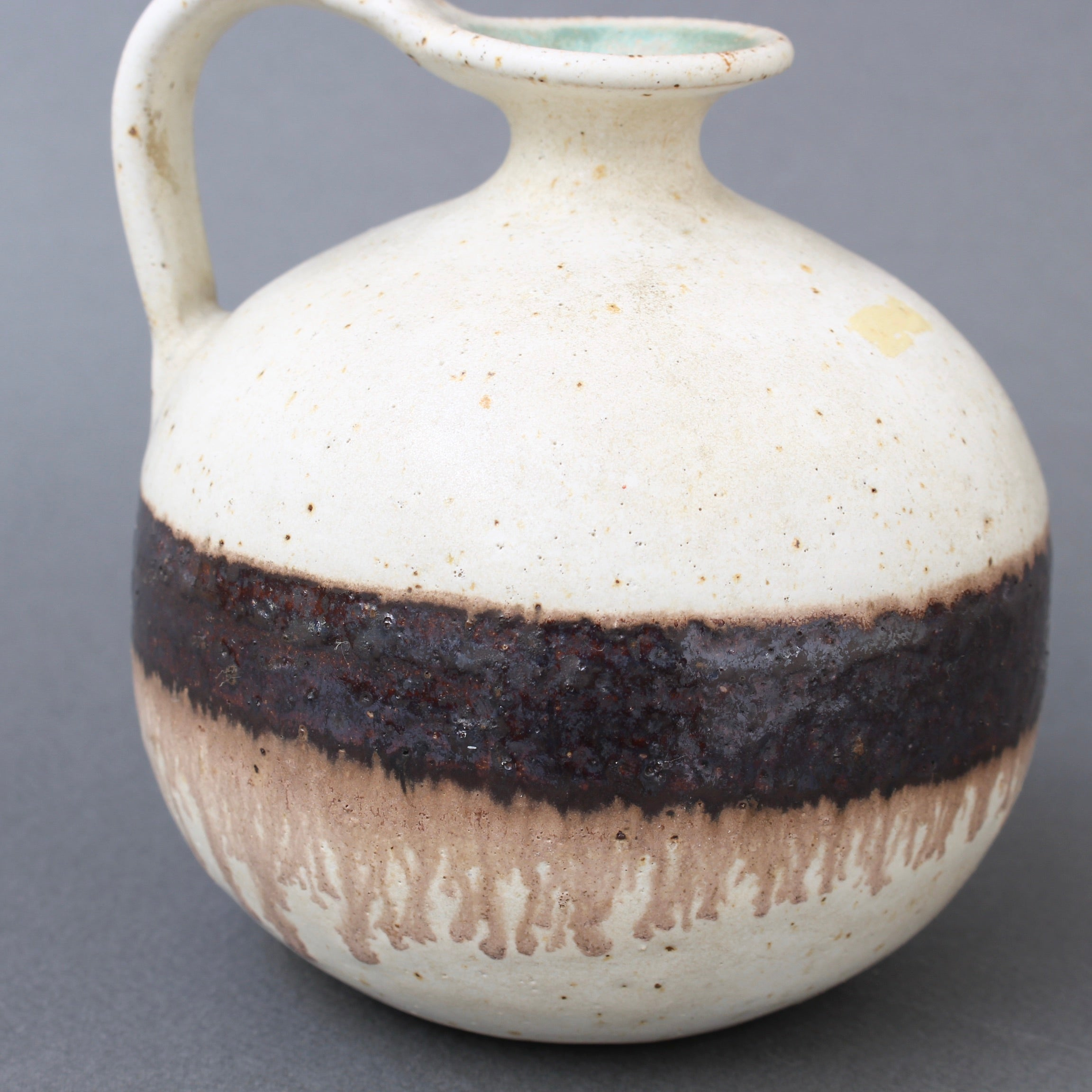 Italian Ceramic Decorative Jug by Bruno Gambone (circa 1970s)
