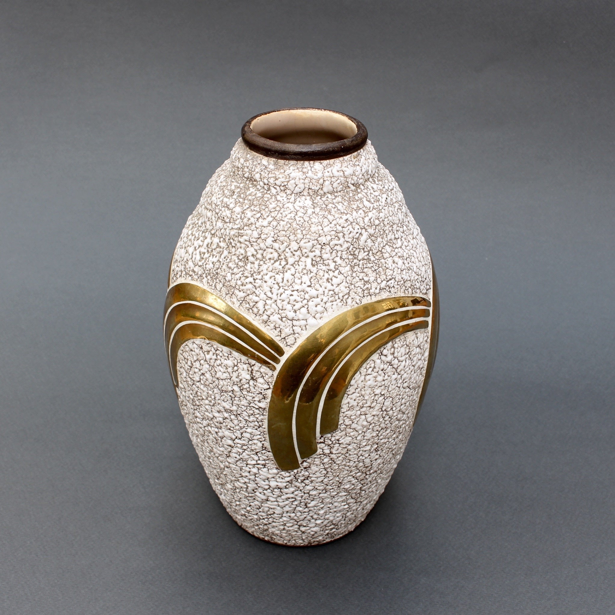 Art Deco Ceramic Vase by ODYV (Circa 1930s)