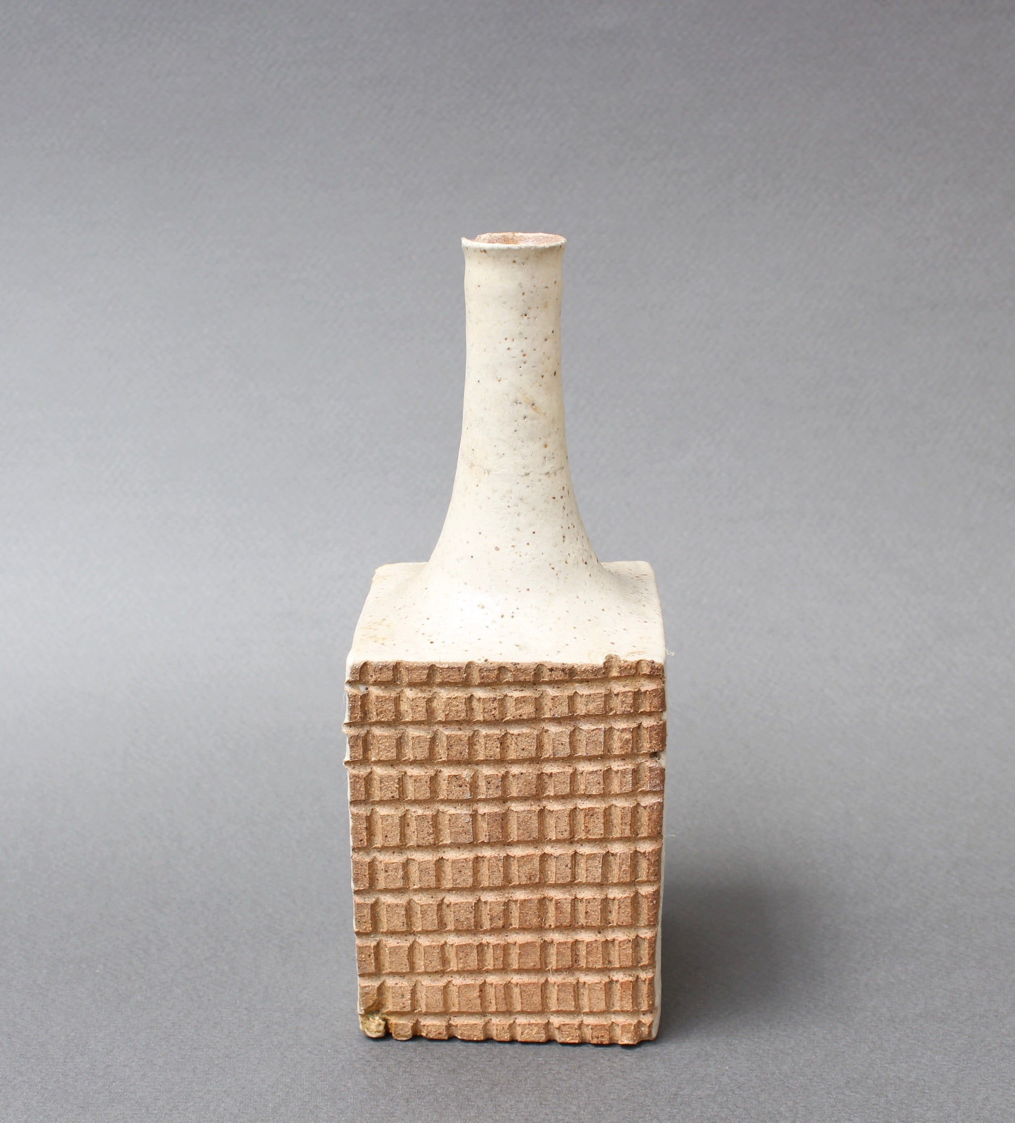 Italian Ceramic Decorative Bottle by Bruno Gambone (circa 1980s) - Small