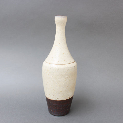 Vintage Italian Decorative Ceramic Bottle / Vase by Bruno Gambone (circa 1970s)