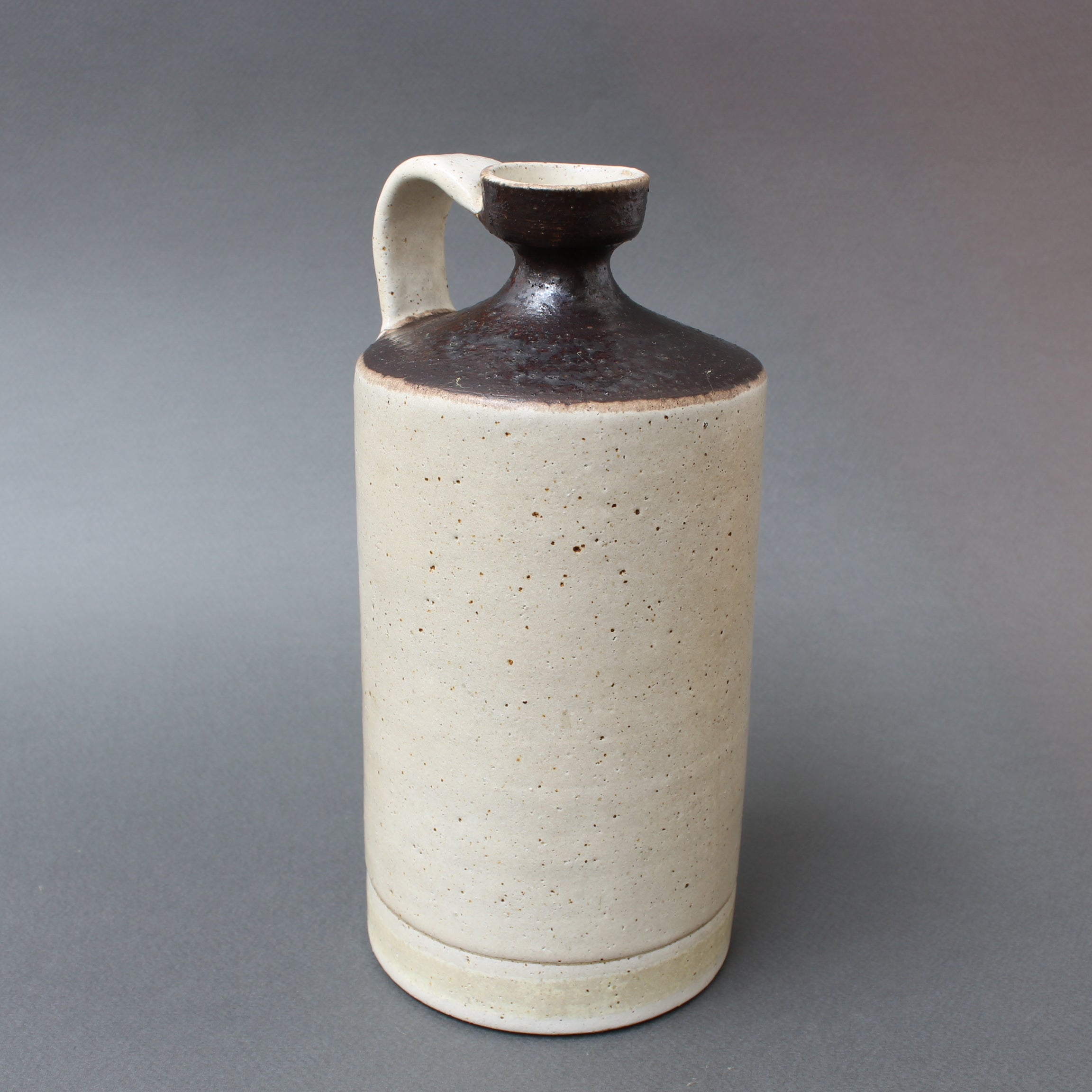 Italian Mid-Century Decorative Ceramic Jug by Bruno Gambone (circa 1970s)