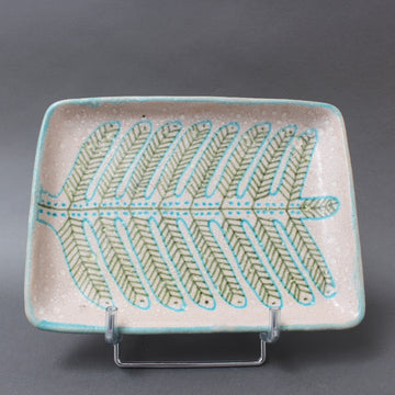 Italian Mid-Century Decorative Ceramic Tray by Guido Gambone (circa 1950s)