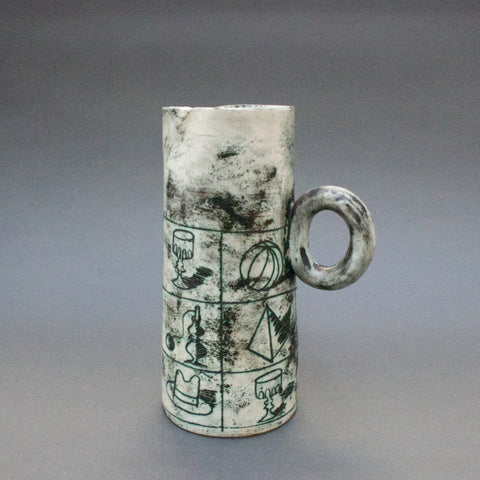 Ceramic Pitcher by Jacques Blin (c. 1950s)