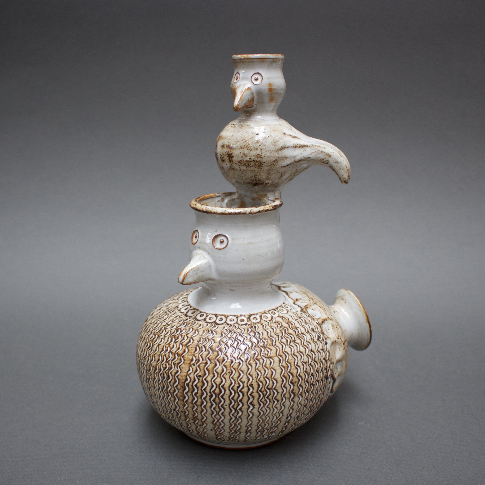 Ceramic Birds by Dominicque Pouchain