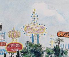 'The Stardust Las Vegas' by Yves Brayer (1979)