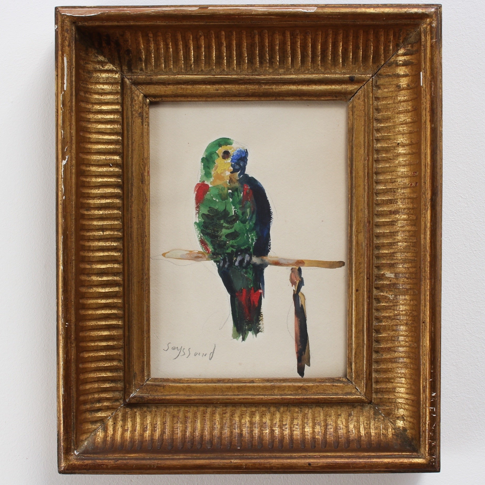 'The Parakeet' by René Seyssaud (circa 1930s)