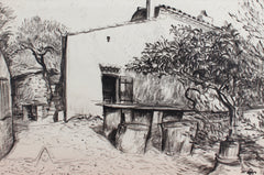 'Courtyard in Provence' by Pierre Dionisi (circa 1930s)