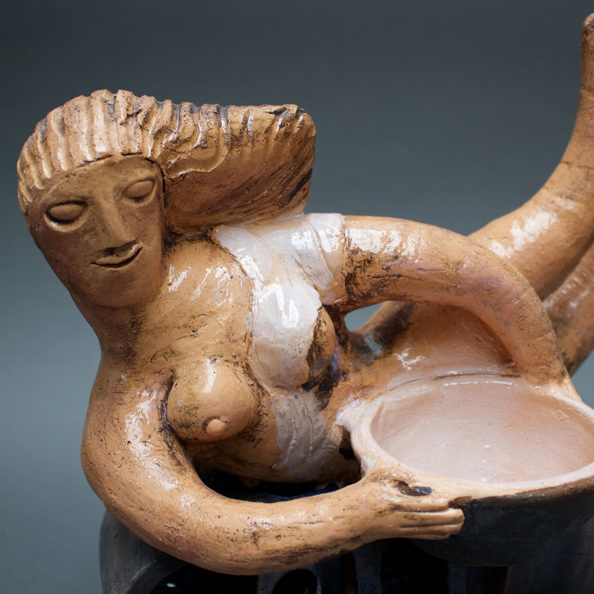 Jean Derval Bather Ceramic Sculpture (2008)