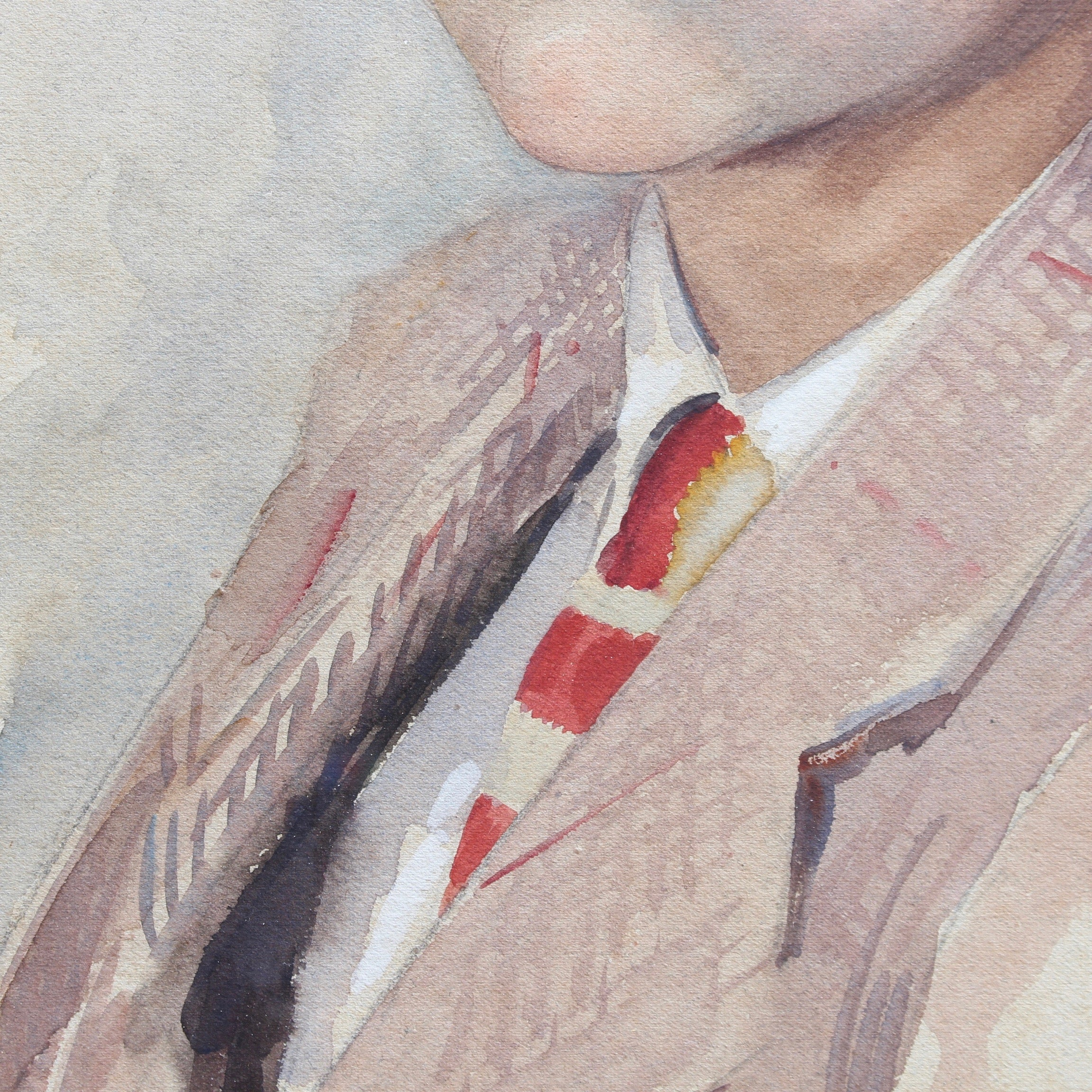 'Portrait of Suited Boy' by Max Moreau (1943)