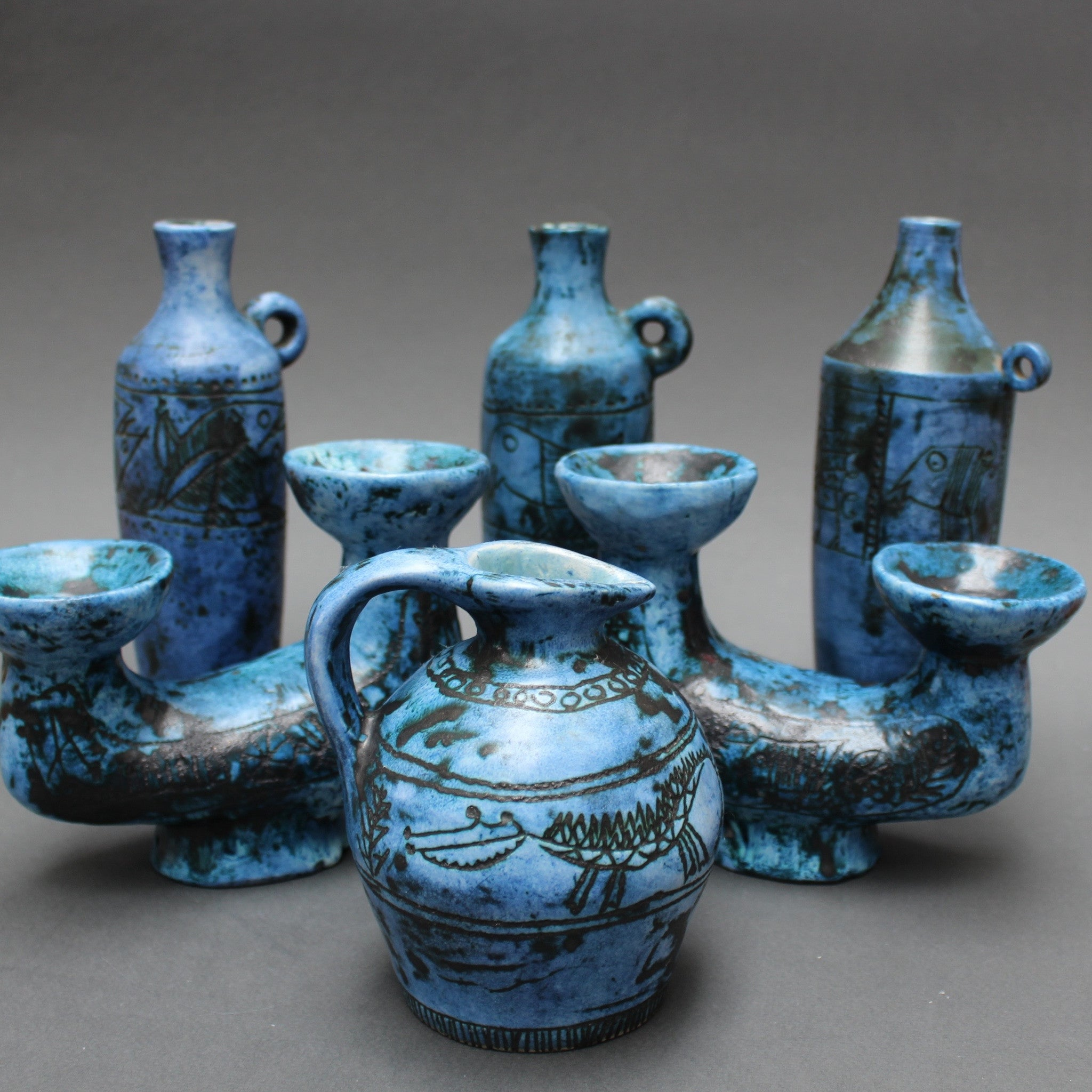 Blue Vase by Jacques Blin (c. 1950s)