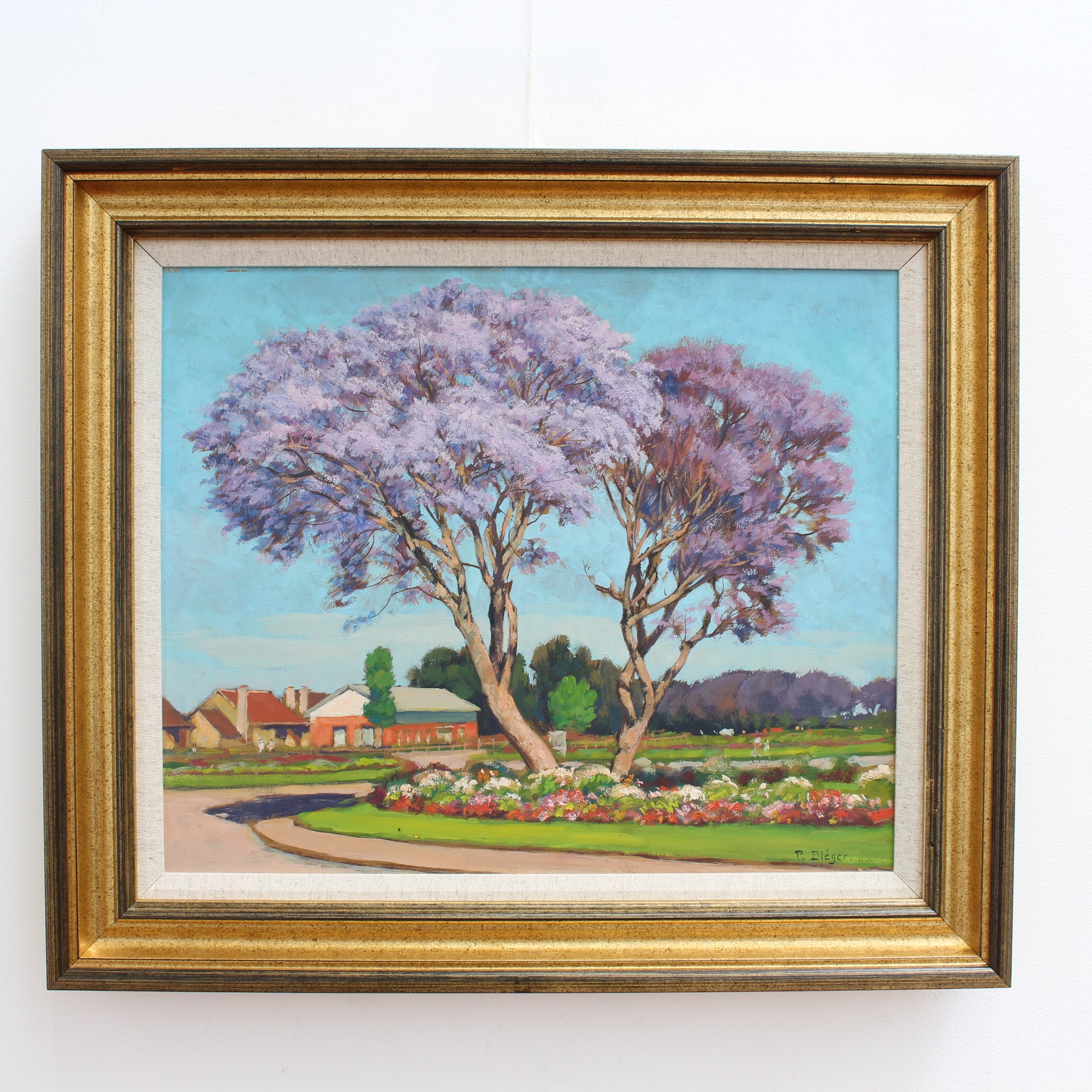 'The Purple Trees of Madagascar' by Paul Léon Bléger (circa 1930s-40s)