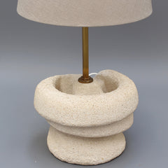 French Limestone (Pierre du Gard) Table Lamp (circa 1970s)