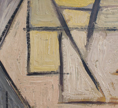 Abstract Composition by V.R. (circa 1940s - 1960s)