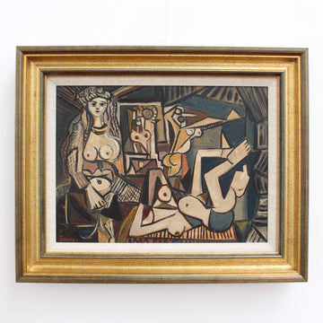 'Homage to Picasso's Les Femmes d'Alger' by Jones (circa 1960s)