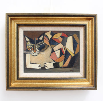 'Portrait of a Feline' by Ross (circa 1960s)