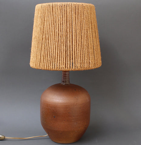 Ceramic Lamp by Pierre Digan (circa 1970s)