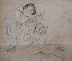 Series of Four Studies by Antoine Calbet (circa 1920s)