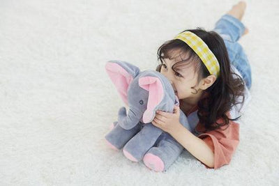 baby products Original Peek-a-Boo Elephant Plush Toy for Baby On Sale (Best Christmas gift For Kids)