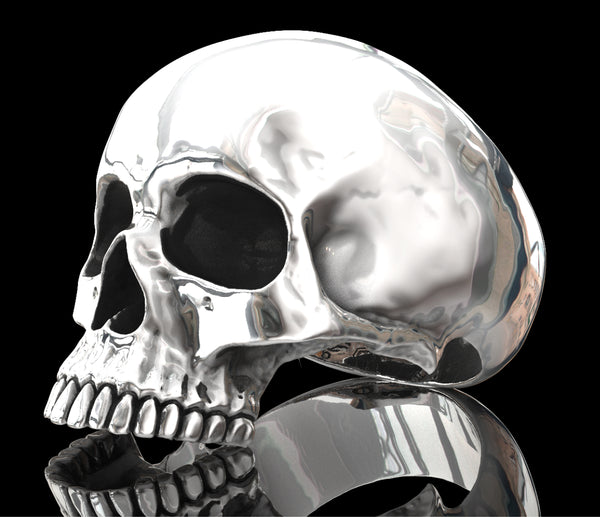 Half Anatomical Skull ring