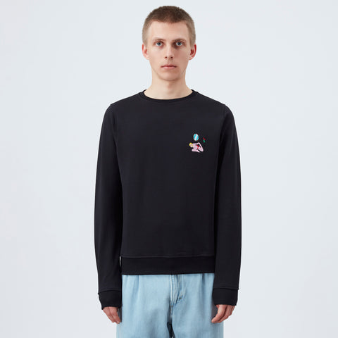 Carne Bollente L'origine d'une blonde Sweater - Black