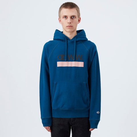 Champion by Wood Wood Judd hoodie - Navy