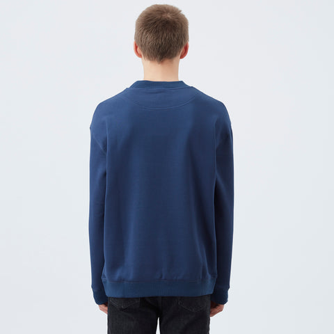 DDM NFPM slogan sweater - Navy
