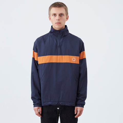 DDM Zipped anorak - Navy