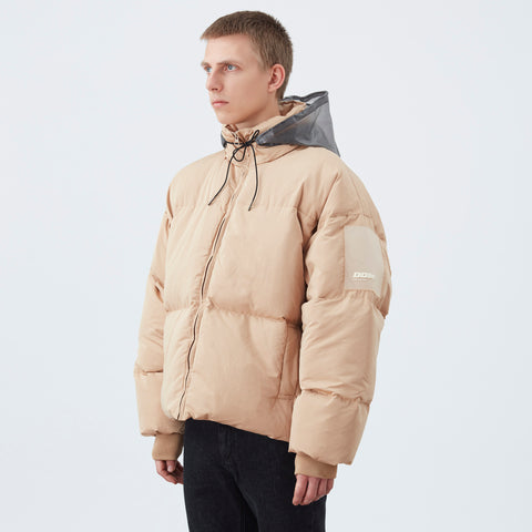 DDM Patched Down Jacket - Sand