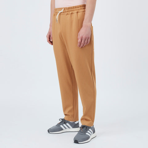 DDM Tapered stripy pants - Beige