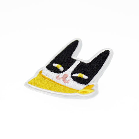 Cat - Embroidered Pin