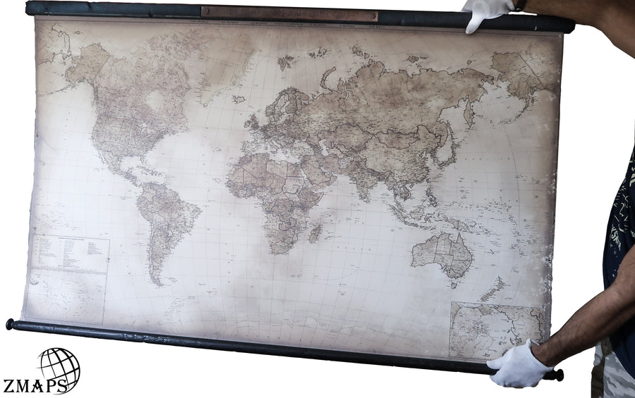 World map 2019, Size 61