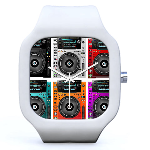White DJ CDJ Colors Watch | Evolve Watches