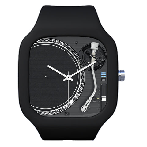 Black DJ Deck Watch | Evolve Watches