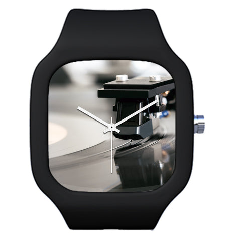 Black DJ Vinyl Lover Watch | Evolve Watches